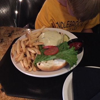 Photo Of Davinci S Restaurant And Bar Collegeville Pa United States Cheeseburger