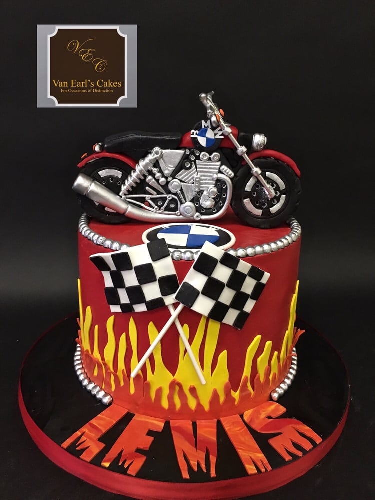 Bmw Motorcycle Birthday Cake Yelp