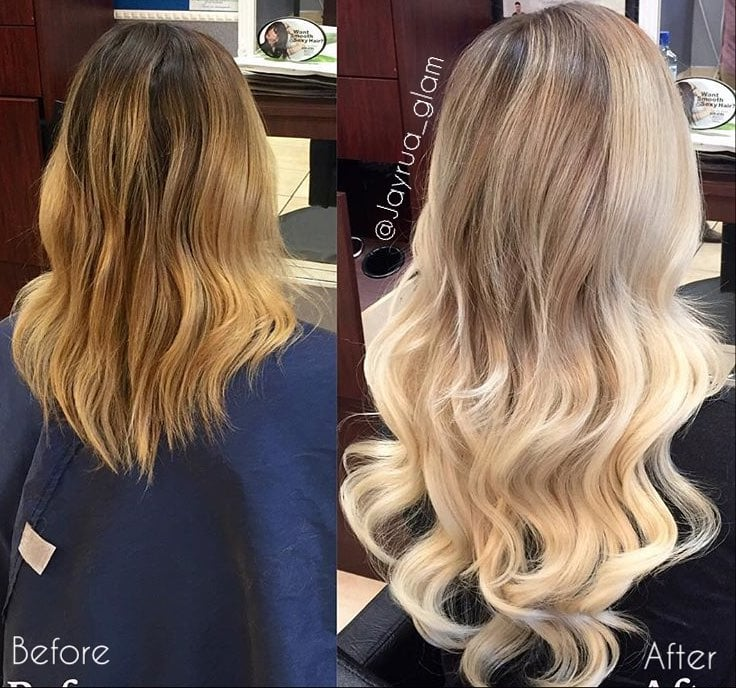 Hair Extensions Before And After Yelp