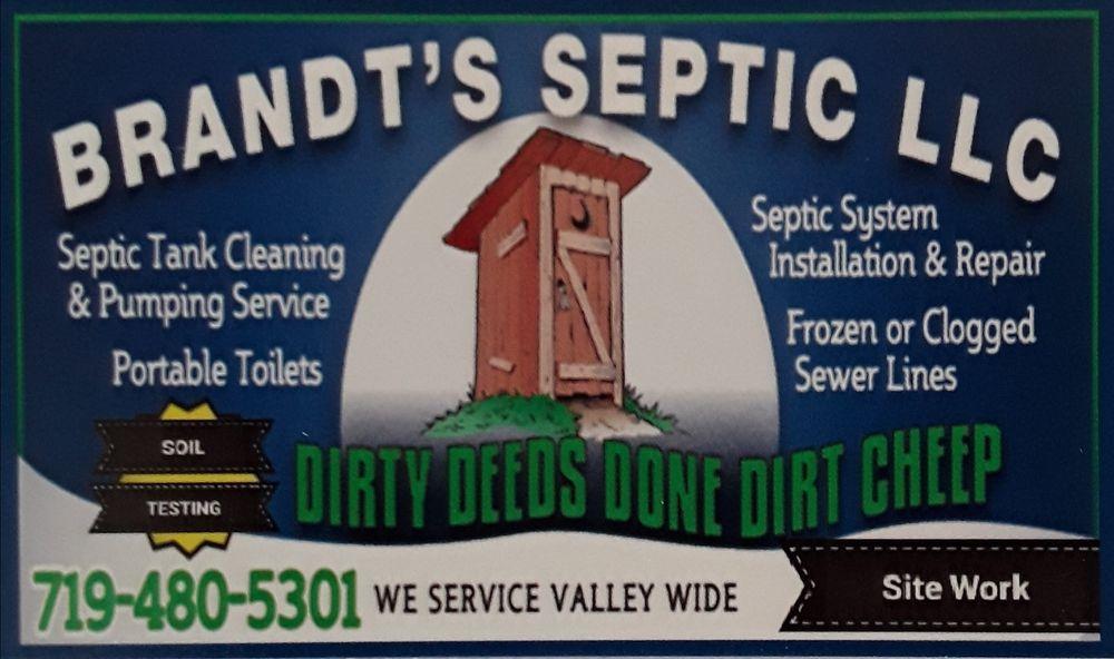 Brandt's Septic: 19119 Co Rd T, sanford, CO