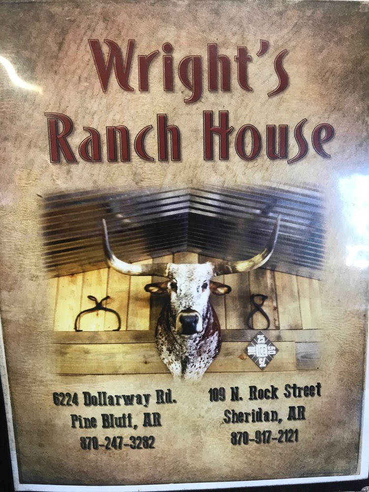 Wright's Ranch House: 6220 Dollarway Rd, Pine Bluff, AR