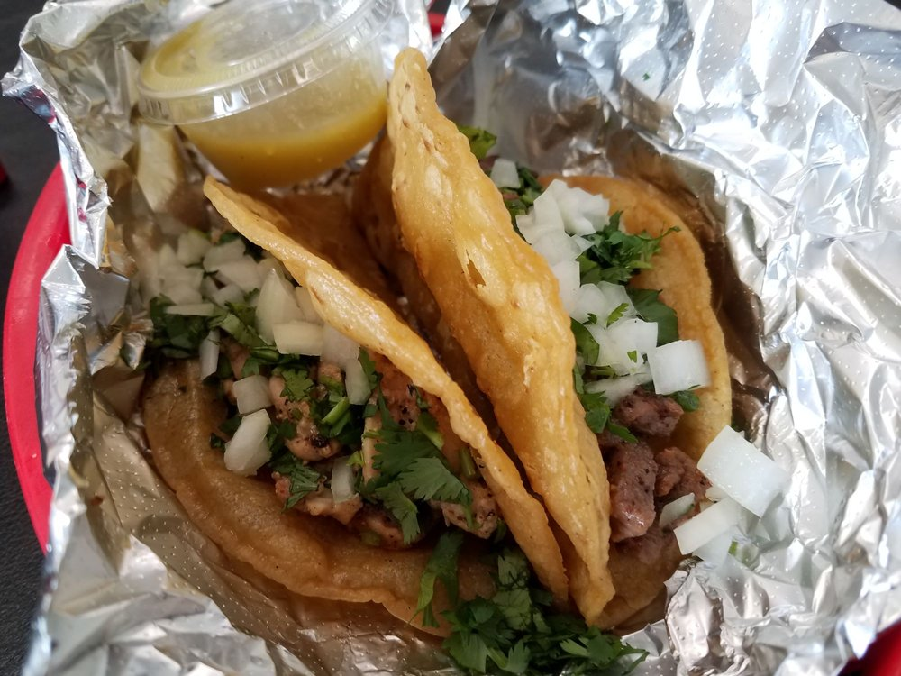 Food from 911 Tacos