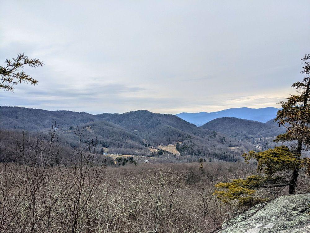Wildcat Rock Trail: 3823 Gerton Hwy, Gerton, NC
