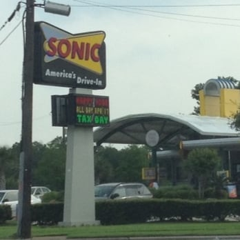 Photo Of Sonic Drive In Houston Tx United States Sign And