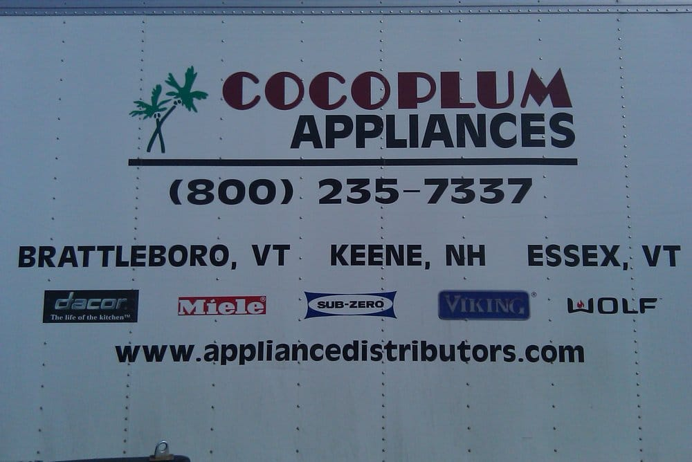 Cocoplum Liances Repair 27 Park St Es Junction Vt Phone Number Yelp