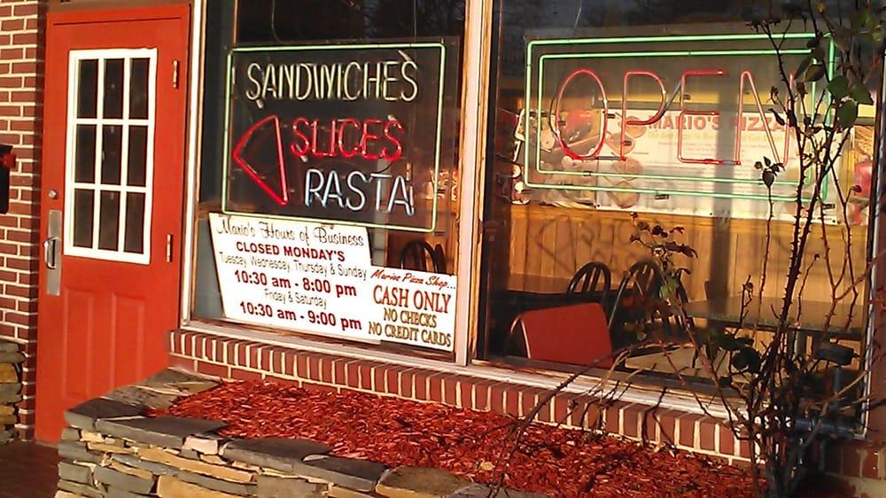 Mario's Pizza Shop: 159 S Reading Ave, Boyertown, PA