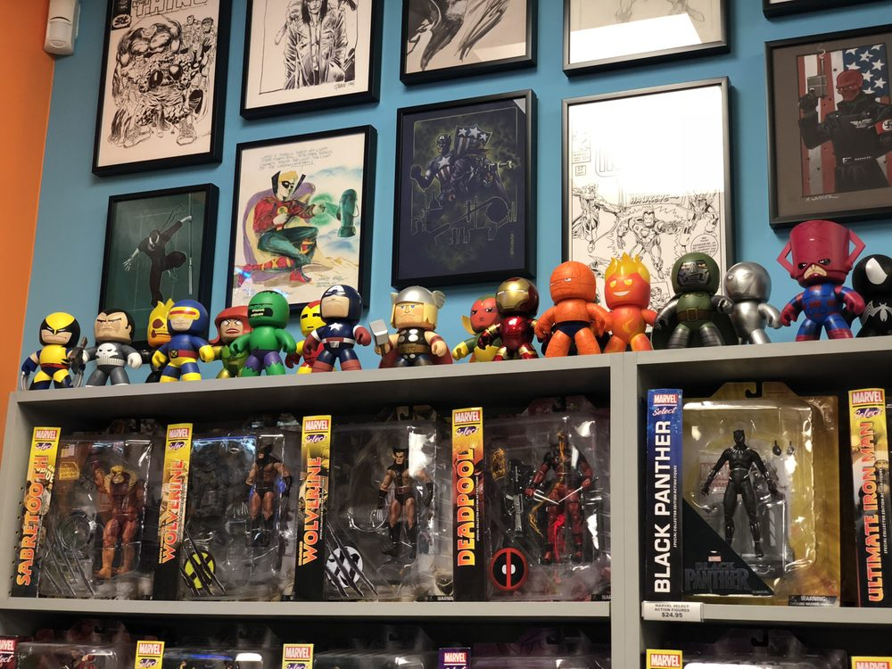 Carol & John's Comic Shop