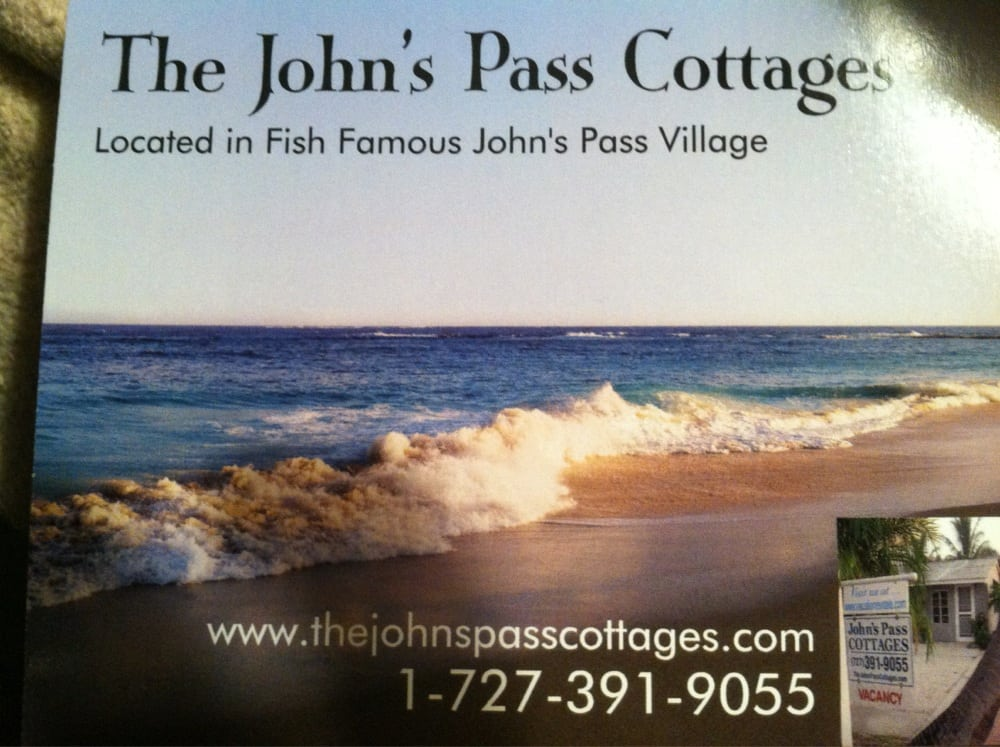 Johns Pass Cottages S Pass And Boardwalk Travel Recreation