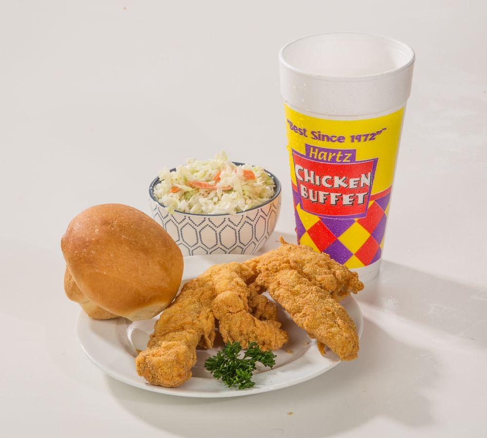 Hartz Chicken Buffet: 204 West Highway 90, Dayton, TX