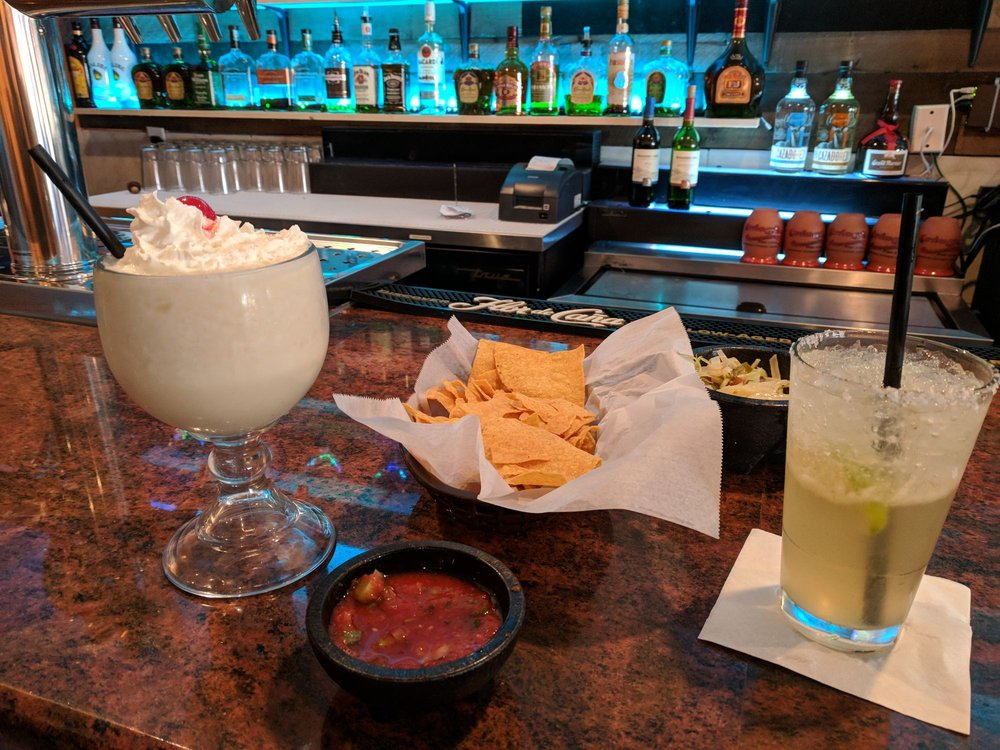 Margarita And Pina Colada Delicious And Strong Cheers Yelp