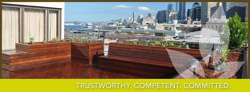 Pioneer Square Rooftop Ipe Deck Yelp