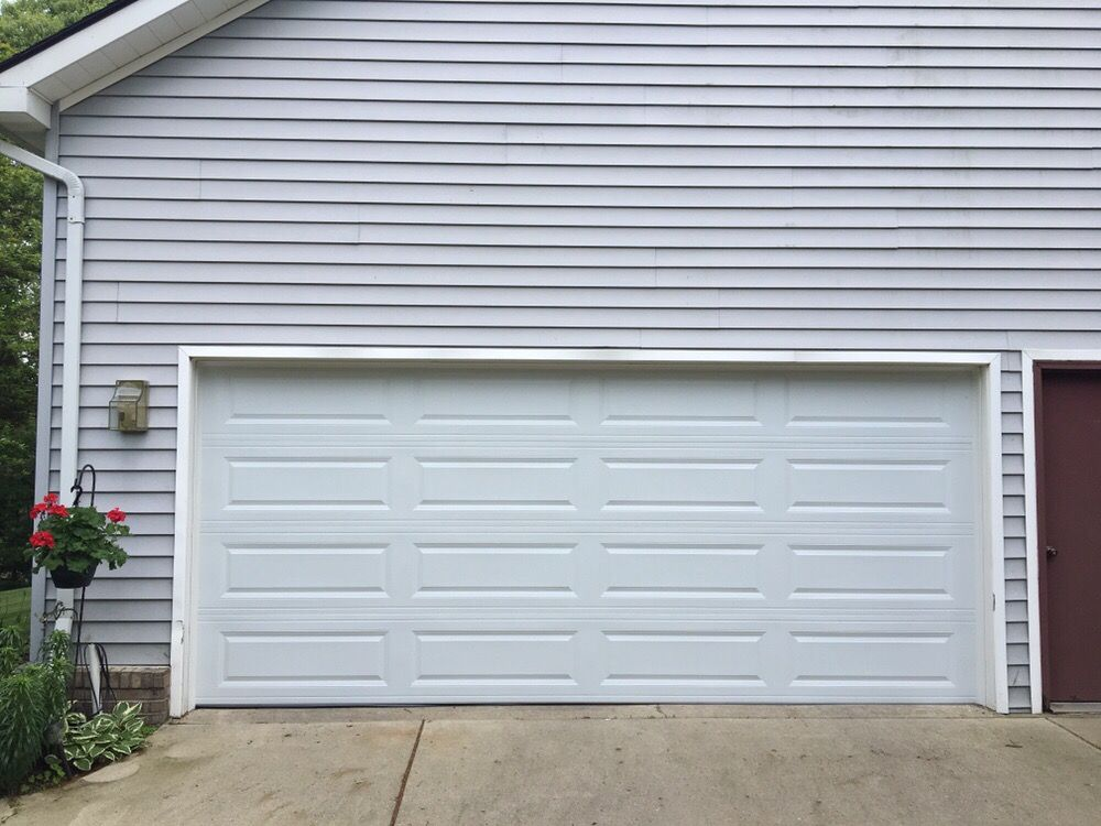 16 39 x 7 39 c h i garage door model 4250 long panel for 16 garage door