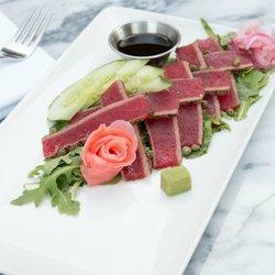 Photo Of Giancarlo S Restaurant Williamsville Ny United States Ahi Tuna Platter