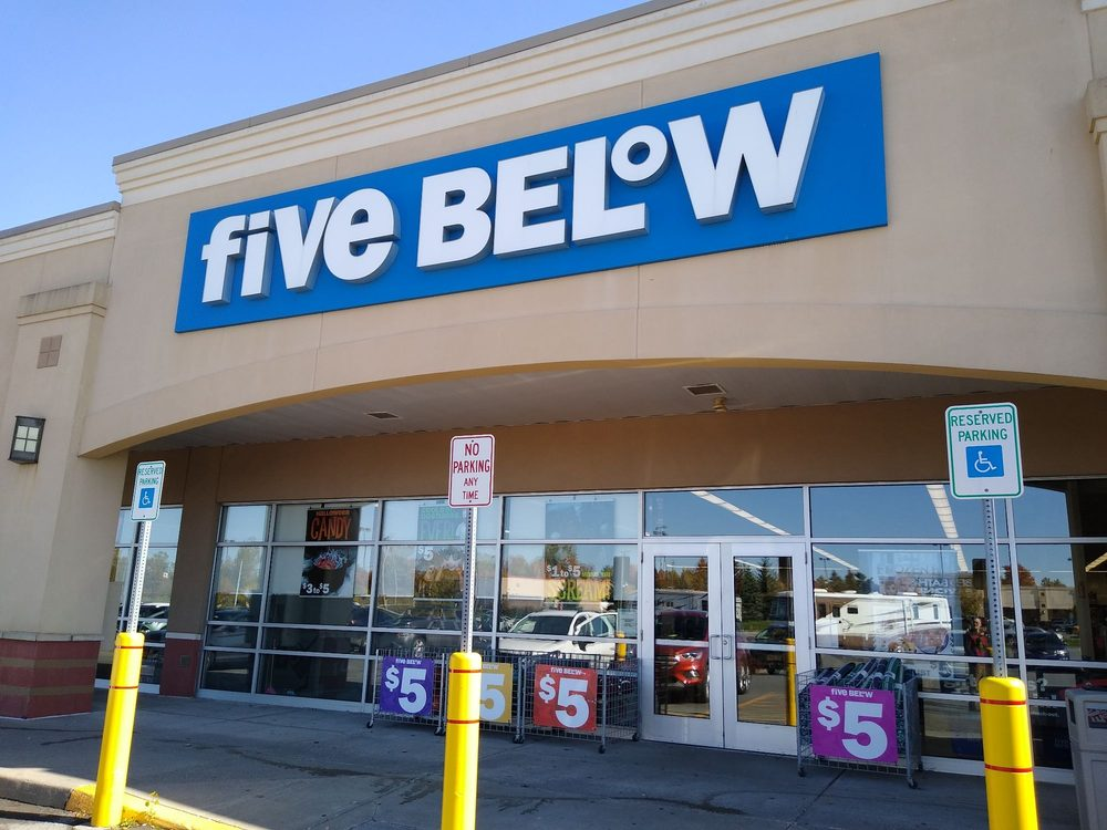 Five Below: 21854 Towne Ctr Dr, Watertown, NY