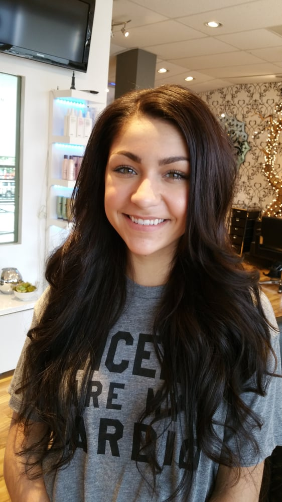 Youtuber Andrea Russet Gets Individual Hair Extensions By Vered
