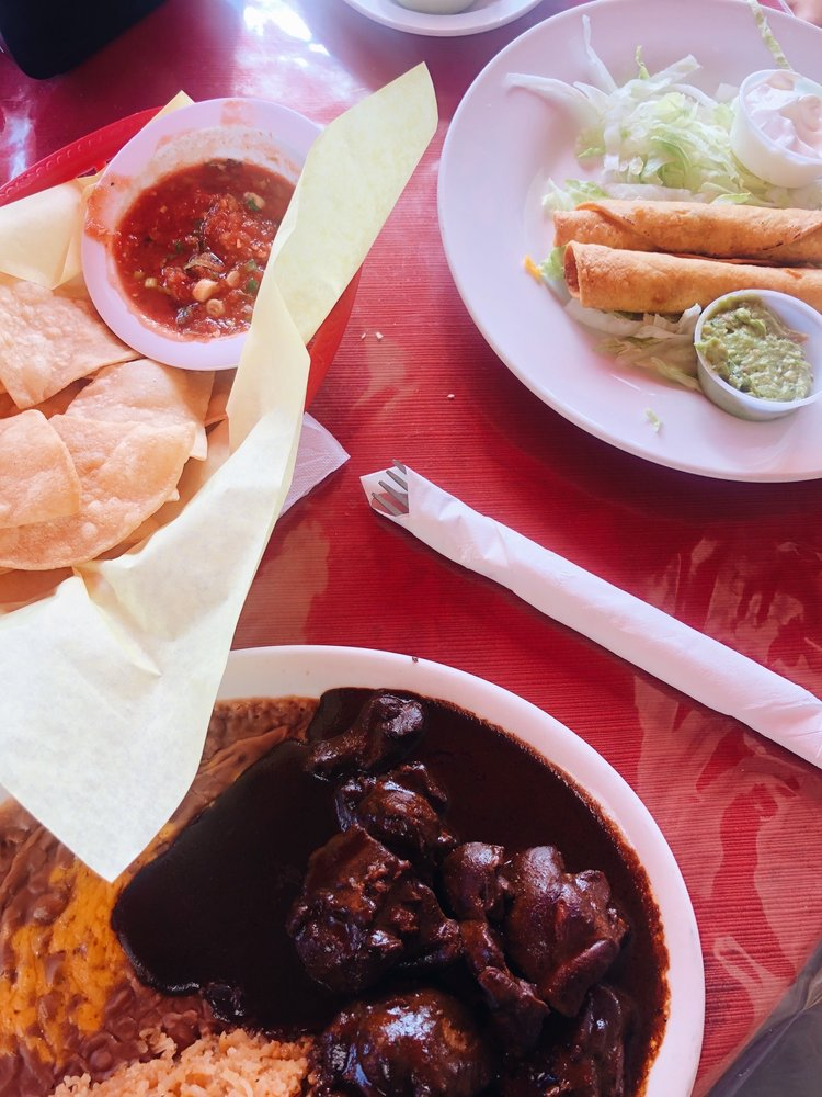 Food from Arteaga's Mexican Food