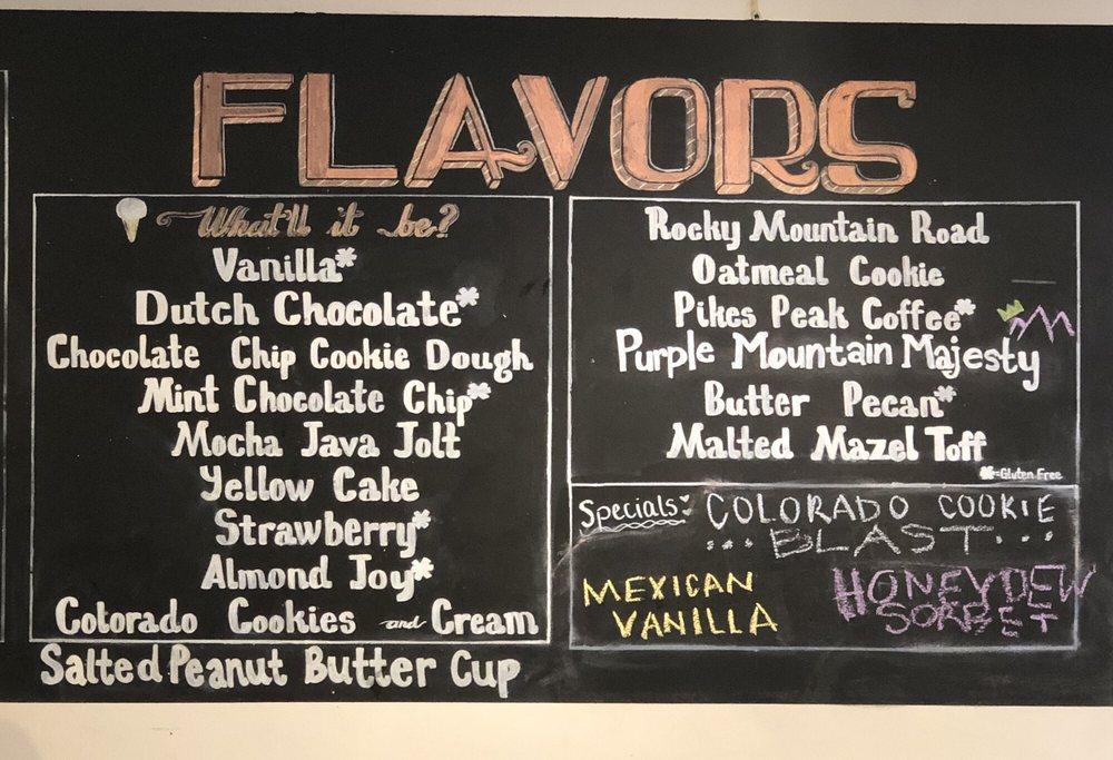 Josh & John's Naturally Homemade Ice Cream: 6896 Centennial Blvd, Colorado Springs, CO