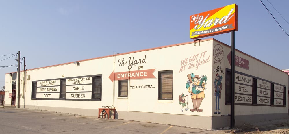 The Yard: 725 E Central Ave, Wichita, KS