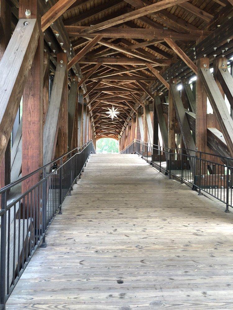 Downtown Winston Salem Strollway: 305 4th St NW, Winston-Salem, NC