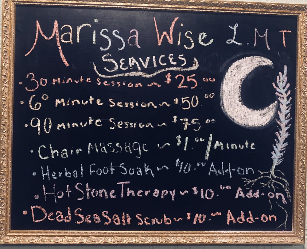 Marissa Wise, LMT: 28 Maple Ave, Cohocton, NY