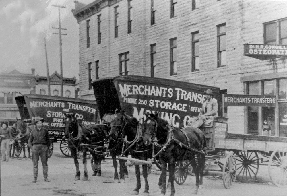 Merchants Transfer & Warehouse Co.: 621 W 8Th St, Little Rock, AR
