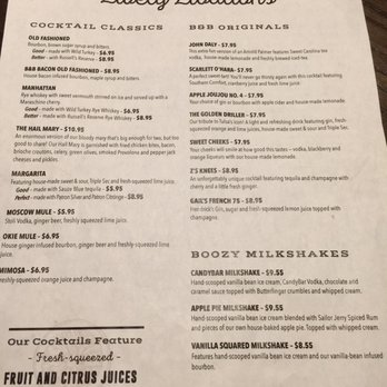 Bread And Butter Kitchen Menu Tulsa