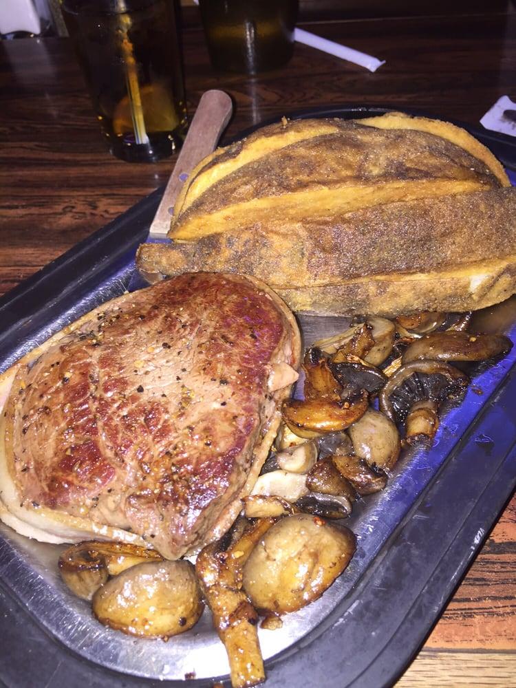 Buckeye Bar & Garage Steakhouse: 121 N Main, Bridger, MT