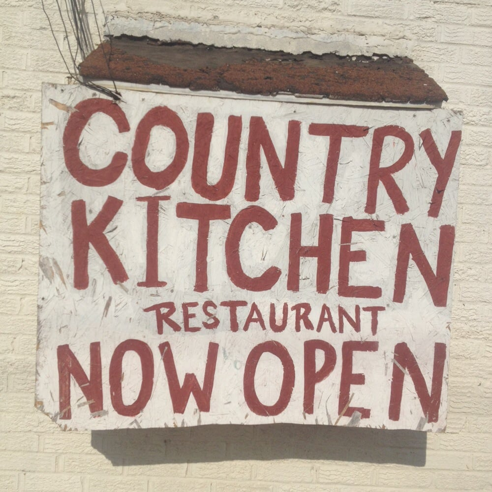 Country Kitchen! Now Open!