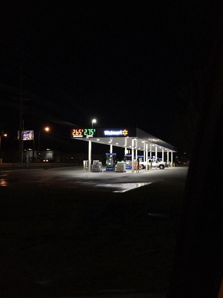 Walmart Fuel Station: 1141 S 25th E, Ammon, ID