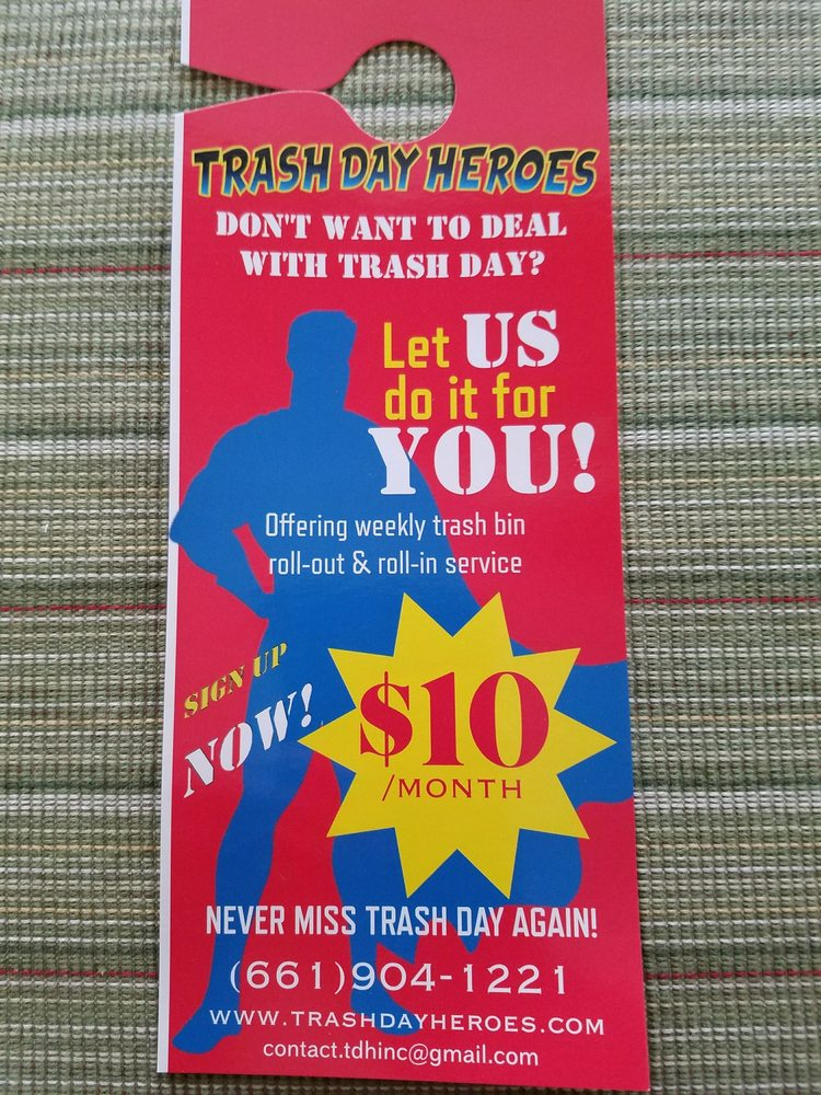 Trash Day Heroes: 27634 Firebrand Dr, Castaic, CA