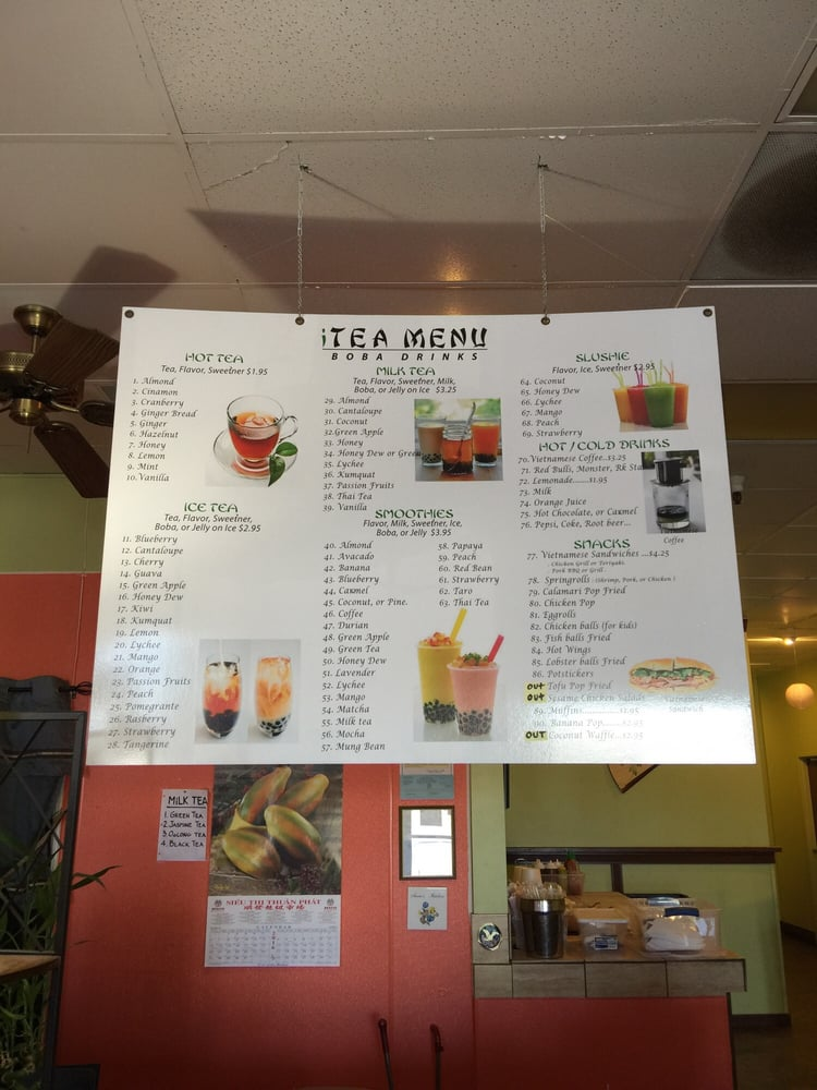 Itea Food Menu