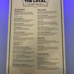 The Local Kitchen And Tap Burgers 6089 Clarks Creek Rd