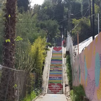 Photo Of Micheltorena Stairs   Los Angeles, CA, United States. Landmark!