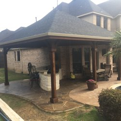 Photo Of Beautiful Backyard Living   Frisco, TX, United States. Patio Cover  And