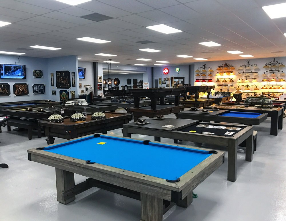 The Man Cave Warehouse Pool Table Store & Gameroom Store: 7335 Lake Underhill Rd, Orlando, FL