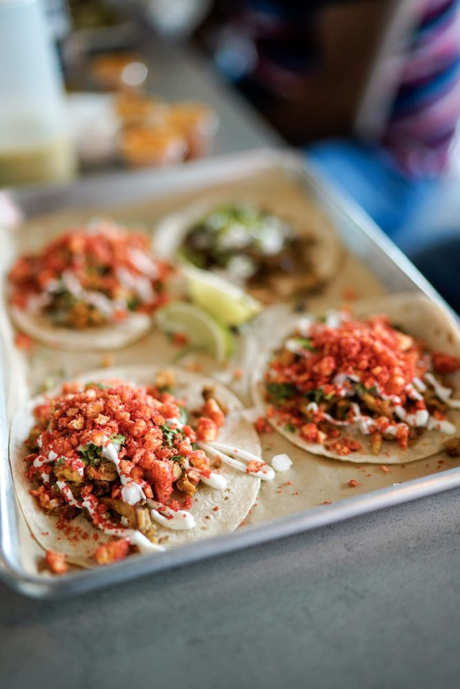 Food from OMG Tacos