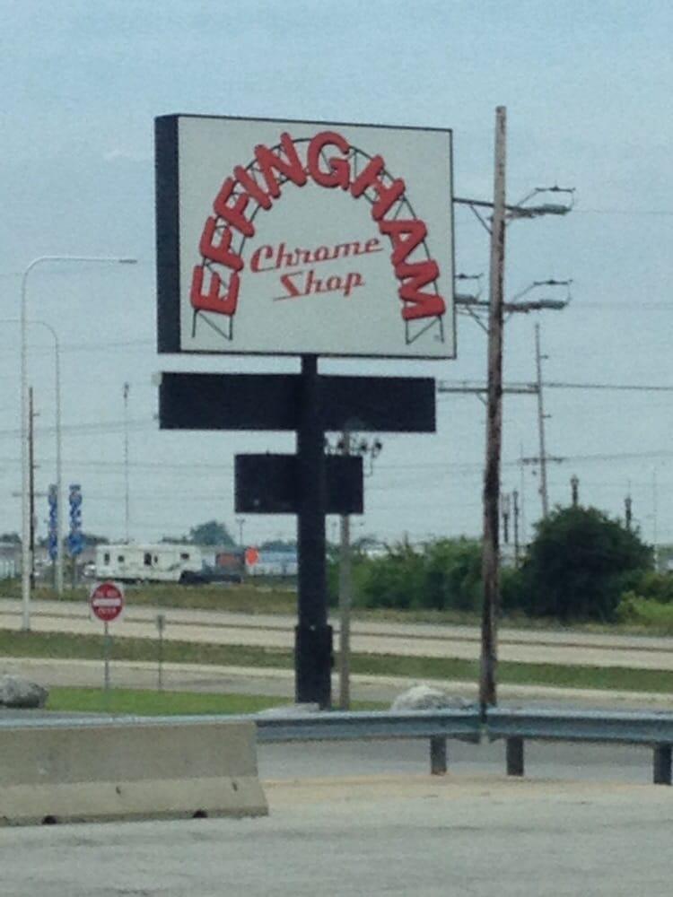 Effingham Chrome Shop: I7057 Exit 159 1808 W Fayette, Effingham, IL