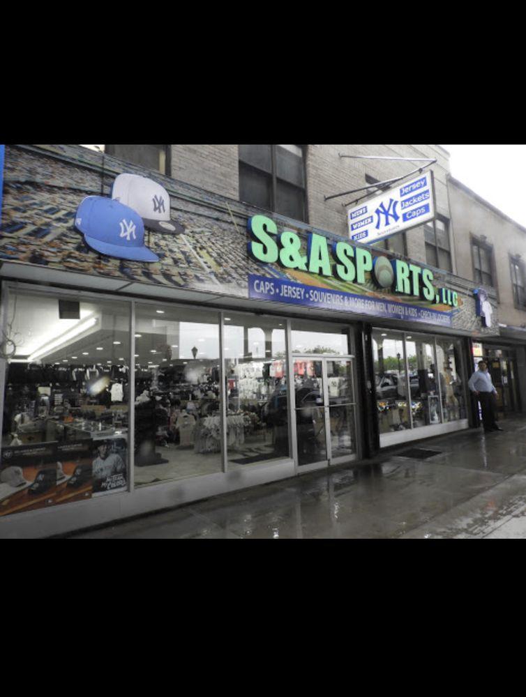 S & A Sports: 880 River Ave, Bronx, NY