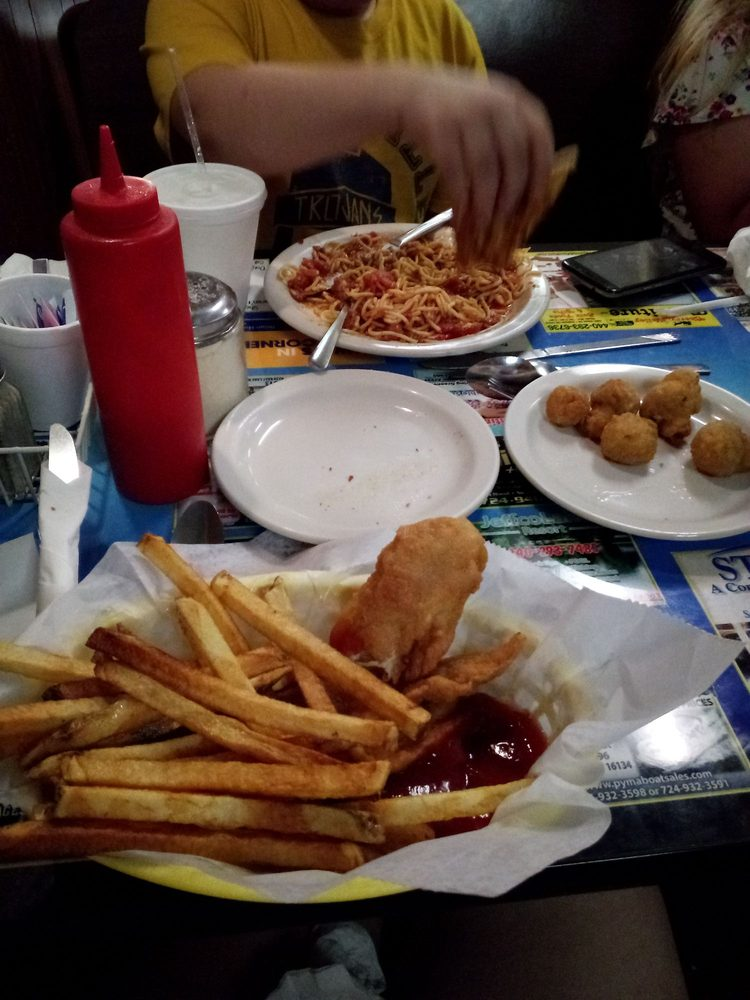 B & A Cafe: 217 Liberty St, Jamestown, PA