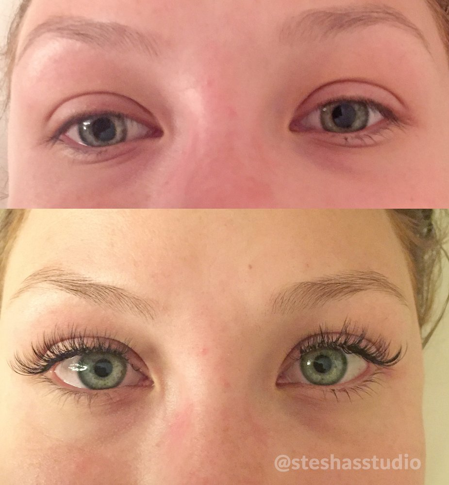 Steshas Studio Eyelash Extension Full Set Scottsdale Yelp
