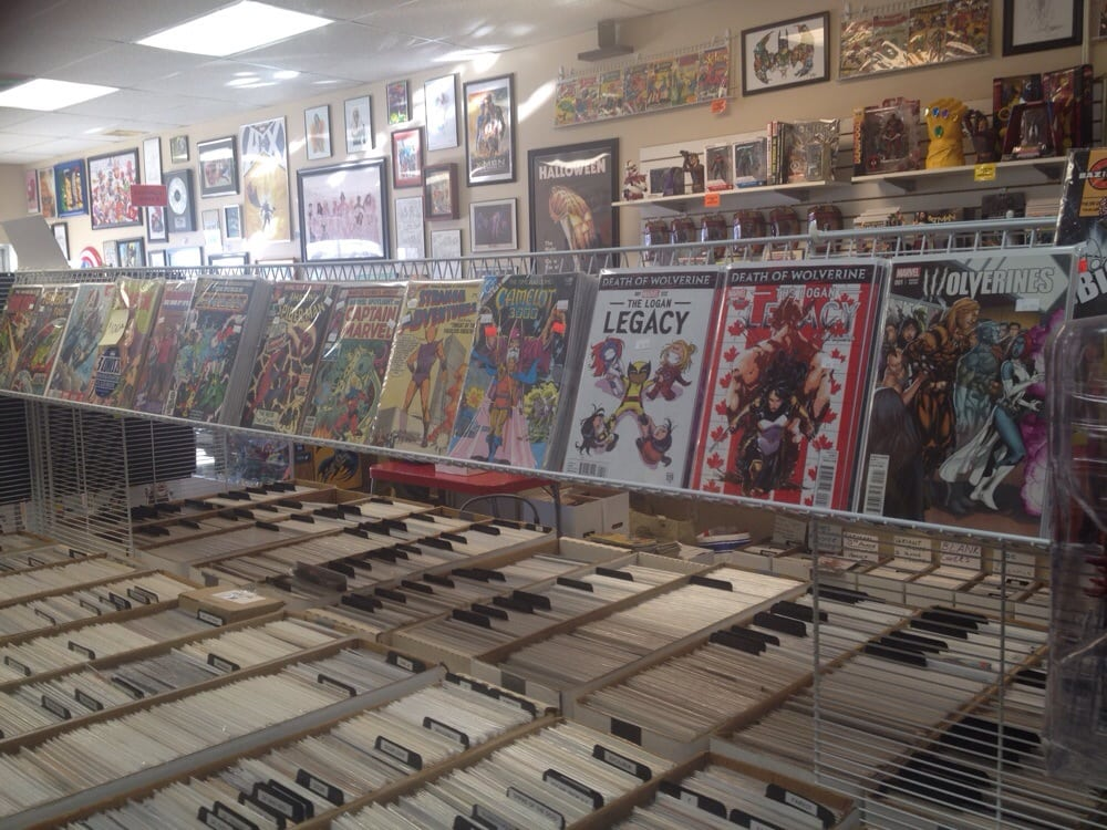 Hazel's Heroes Comics And More: 1664 N Main St, North Canton, OH