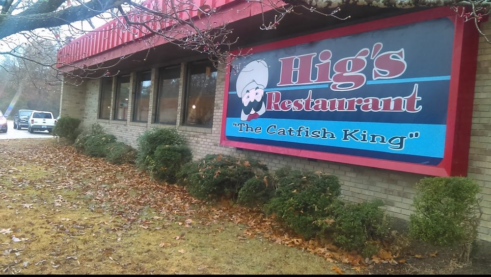 Hig's Restaurant: 1027 Oakwood Dr, Milan, TN