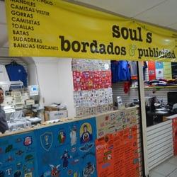 e15833f55c517 Soul s Bordados y Publicidad - Embroidery   Crochet - José Garibaldi ...