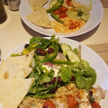 Zoes Kitchen Greek Chicken Pita zoes kitchen - 35 photos & 17 reviews - salad - 1695 29th st