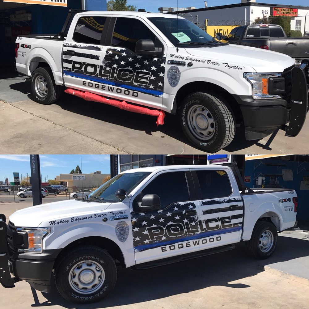 Edgewood Md Read Consumer Reviews Browse: Full Tint 20% Ford F-150 Edgewood Police Nm!