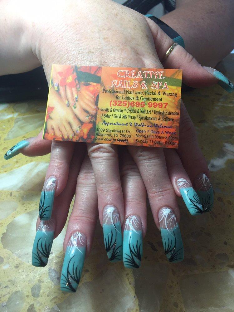 Creative Nails & Spa: 4209 Southwest Dr, Abilene, TX