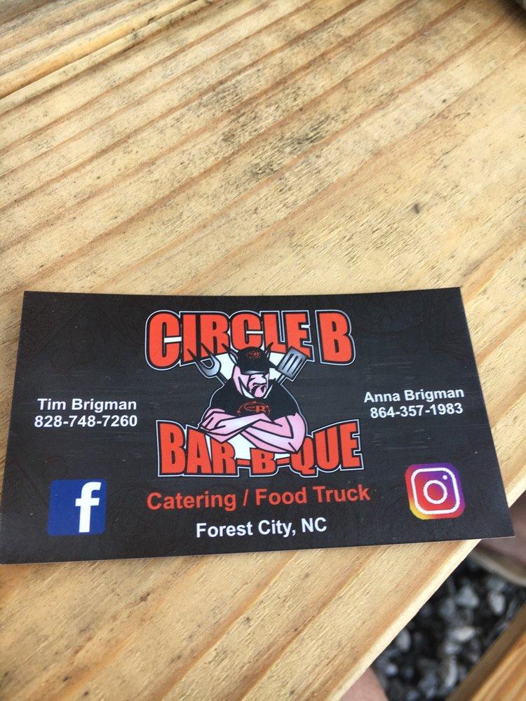 Circle B BBQ: Forest City, NC