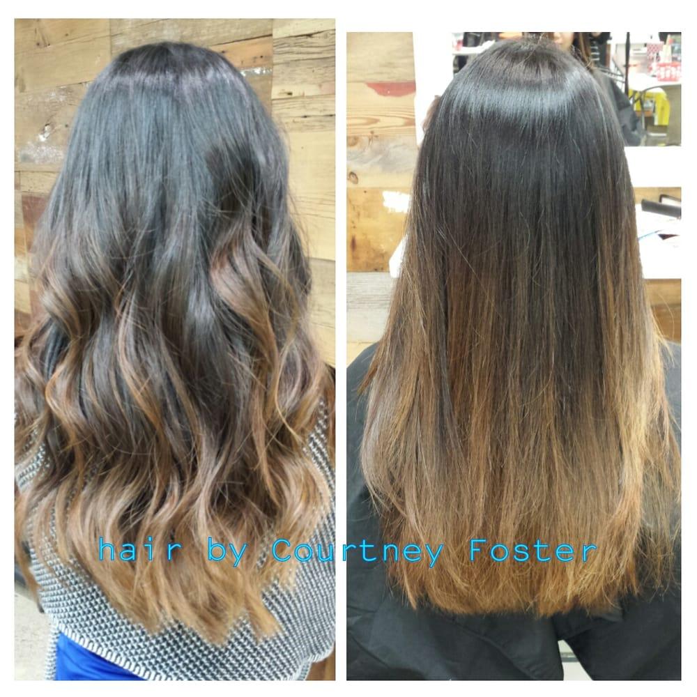 Asian Hair Balayage Straight Www Pixshark Com Images