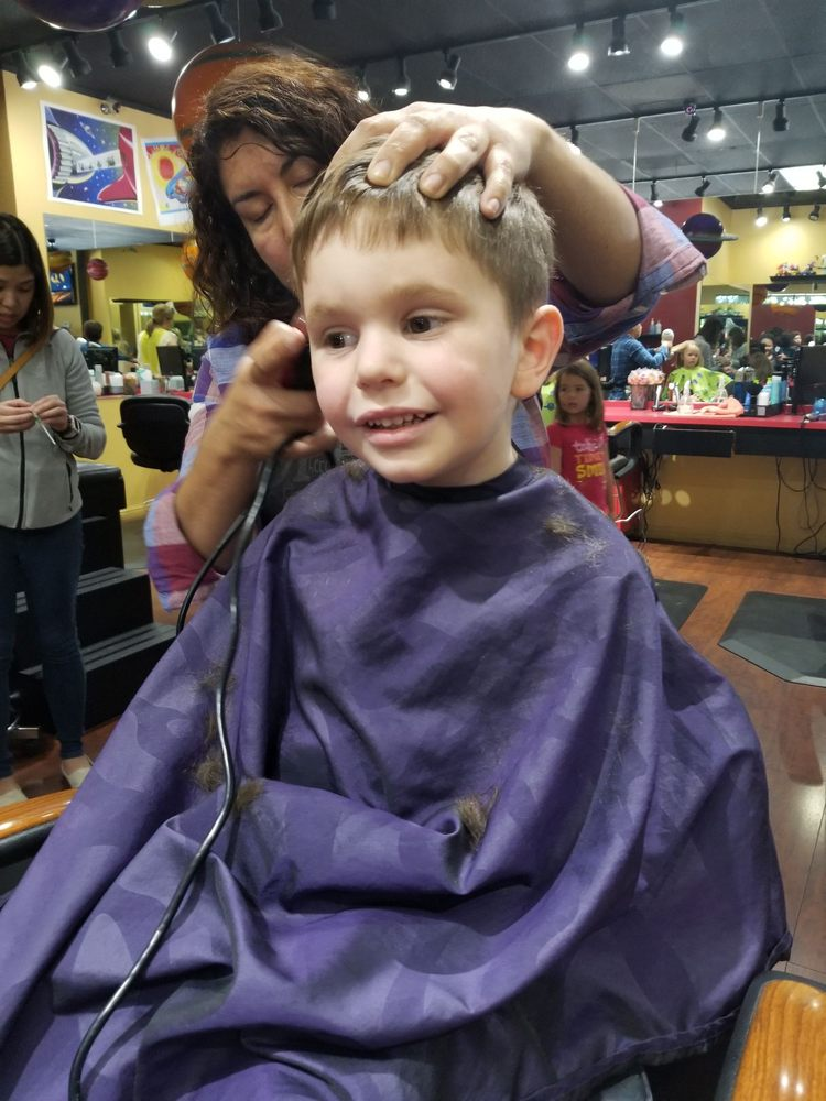 This Is Amazing My Oldest Never Likes Hair Cuts It Has Been A
