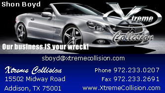 Xtreme Collision Repair: 15502 Midway Rd, Addison, TX